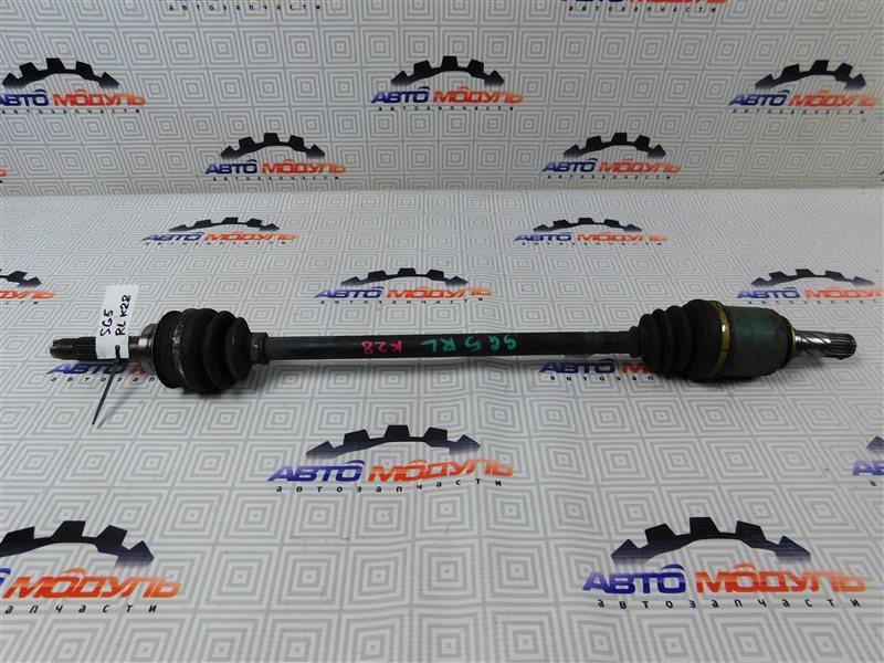 Привод Subaru Forester SG5-092424 EJ203 2005 задний левый