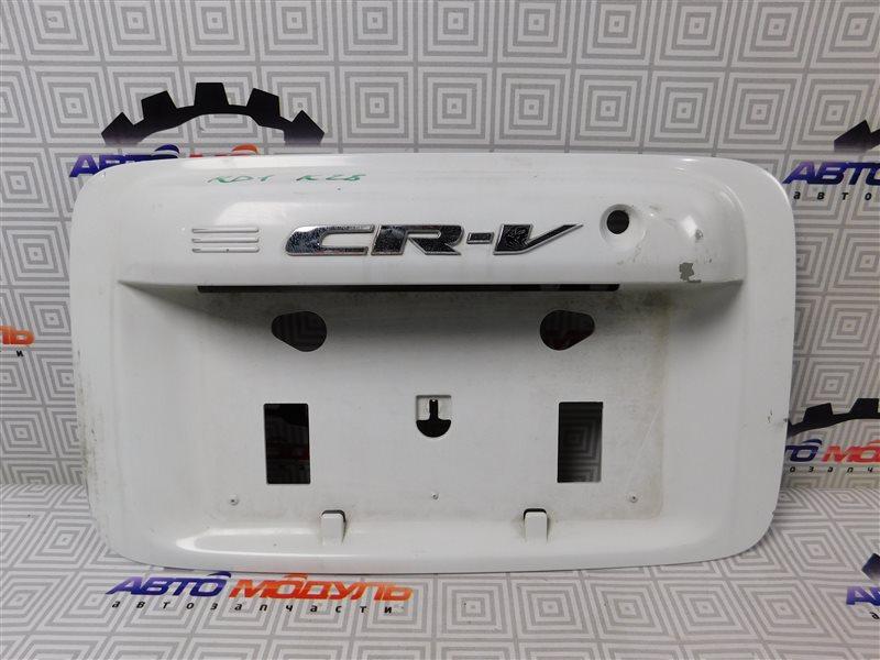 Накладка 5-й двери Honda Cr-V RD1-1216022 B20B задняя