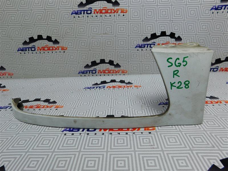 Планка под фары Subaru Forester SG5-064423 EJ205 2004 передняя правая