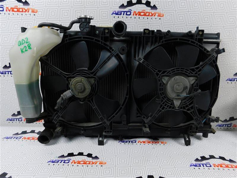 Радиатор основной Subaru Impreza GD2 EJ15