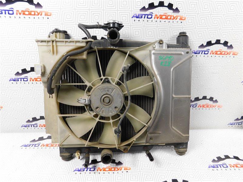 Радиатор основной Toyota Vitz SCP10 1SZ