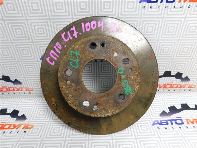 Диск тормозной Honda Accord CL7 K20A задний