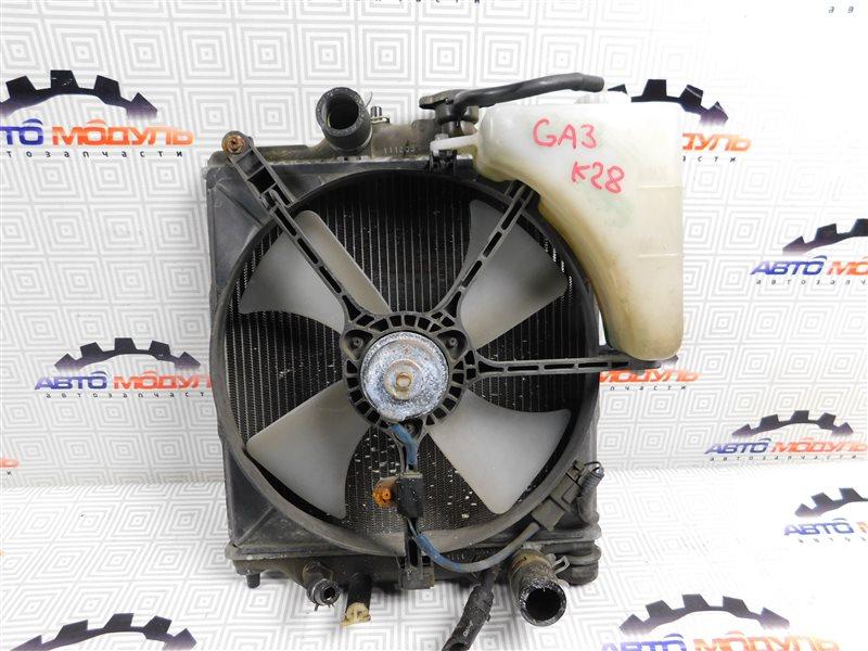 Радиатор основной Honda Logo GA3 D13B