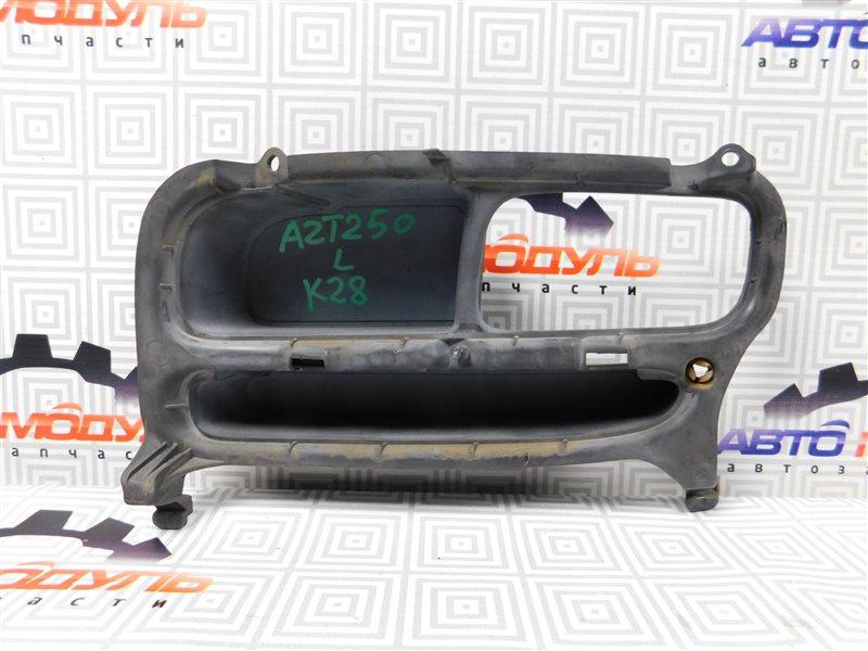 Заглушка бампера Toyota Avensis AZT250-0011009 1AZ-FSE 2003 левая