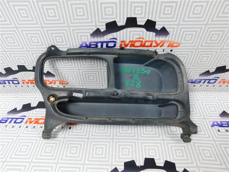 Заглушка бампера Toyota Avensis AZT250-0011009 1AZ-FSE 2003 правая