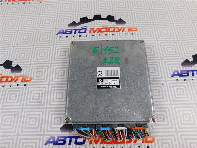 Компьютер двс Subaru Impreza GG2 EJ152