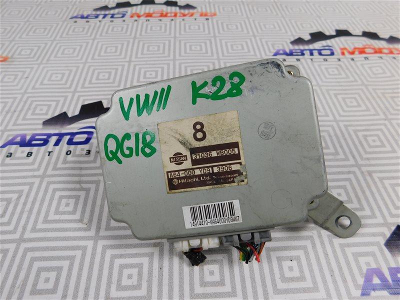 Блок управления акпп Nissan Expert VW11 QG18-DE