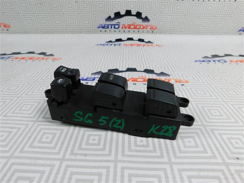 Блок упр. стеклоподьемниками Subaru Forester SG5-064423 EJ205 2004 передний правый