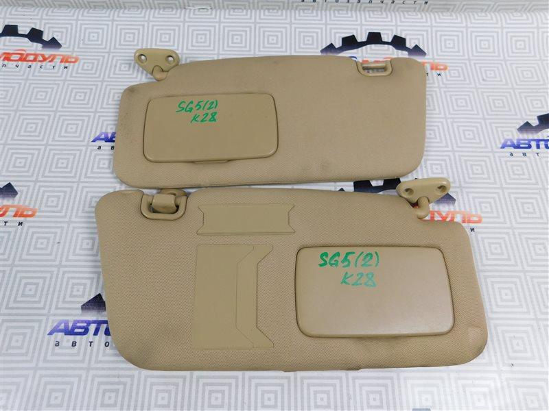 Козырек солнцезащитный Subaru Forester SG5-064423 EJ205 2004
