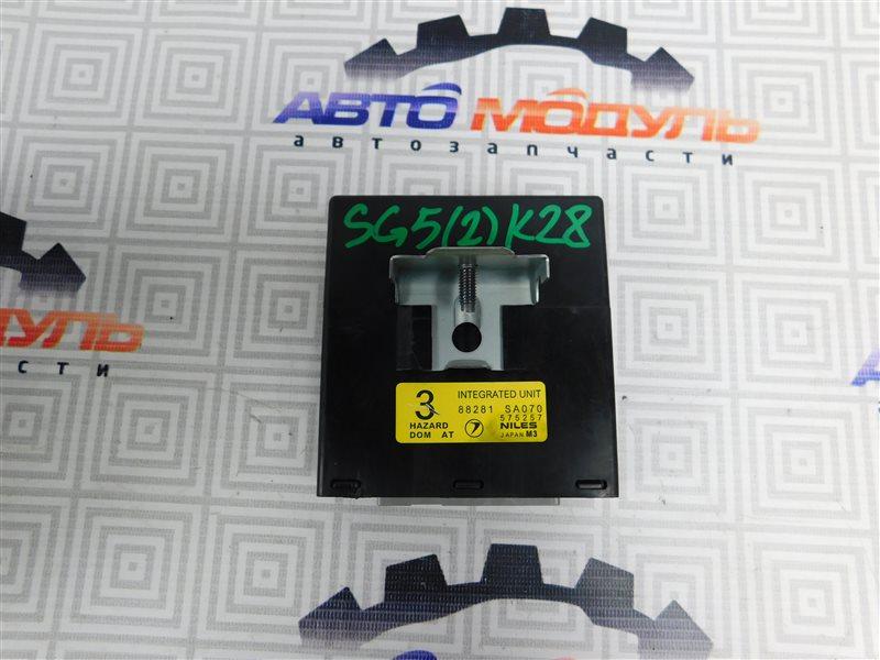 Блок управления Subaru Forester SG5-064423 EJ205 2004