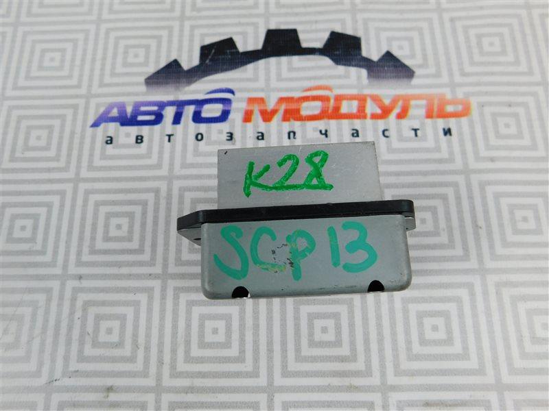 Реостат печки Toyota Vitz SCP13