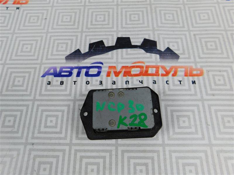 Реостат печки Toyota Bb NCP30
