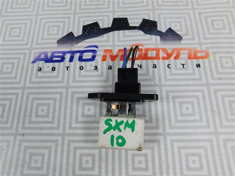 Реостат печки Toyota Ipsum SXM10-0072696 3S-FE 1997 задний
