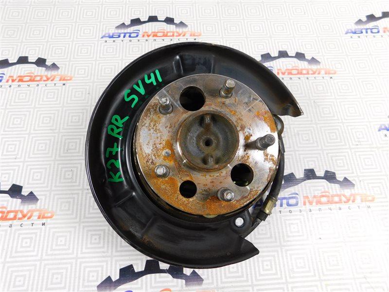 Ступица Toyota Vista SV41-0064676 3S-FE 1997 задняя правая