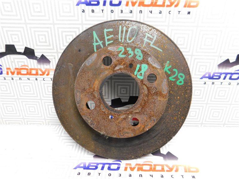 Диск тормозной Toyota Sprinter AE91 5A-FE передний