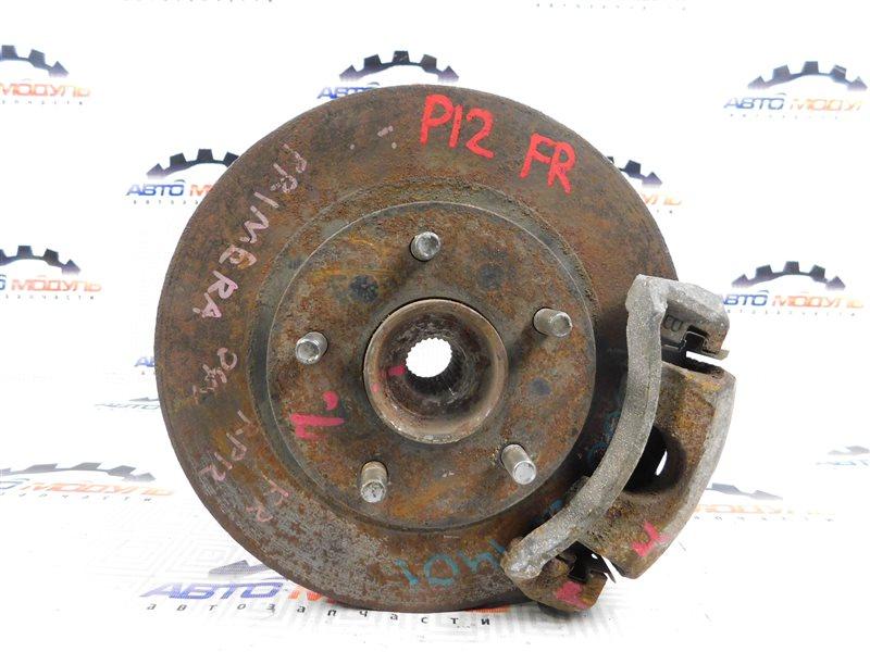 Диск тормозной Nissan Primera TP12 передний