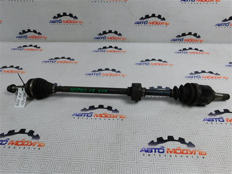 Привод Toyota Ist NCP60 1NZ передний правый
