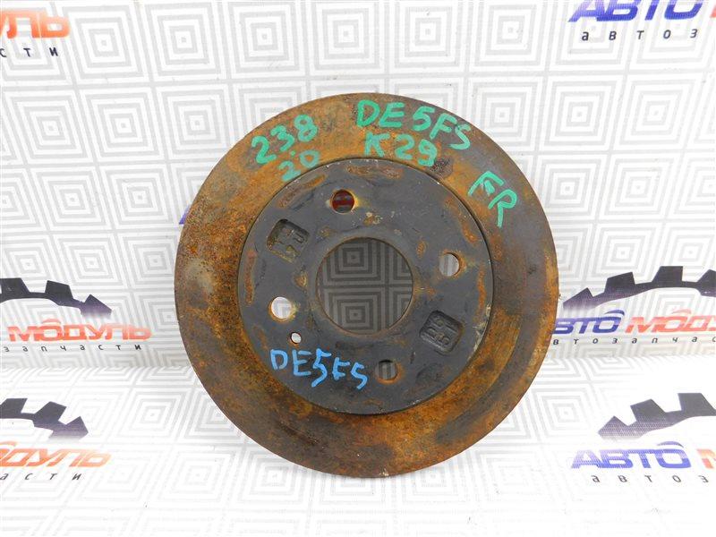 Диск тормозной Mazda Demio DE5FS передний
