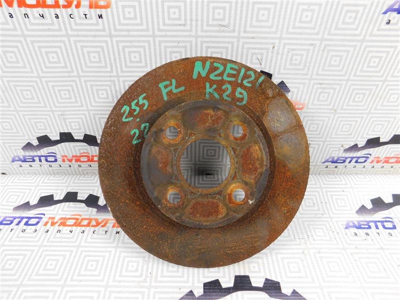 Диск тормозной Toyota Corolla Fielder NZE121-0303325 1NZ-FE 2004 передний