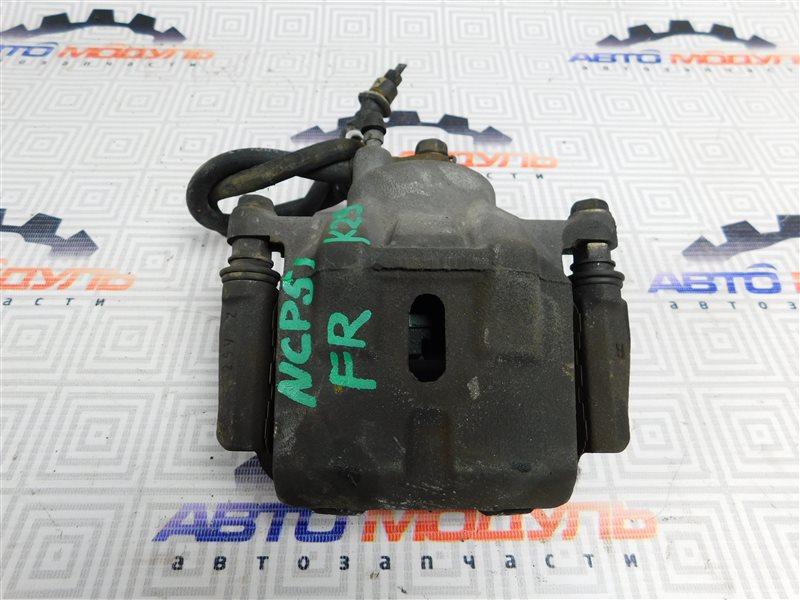 Суппорт Toyota Succeed NCP51-0071775 1NZ-FE 2004 передний правый