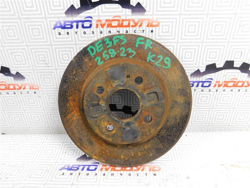 Диск тормозной Mazda Demio DE3FS передний