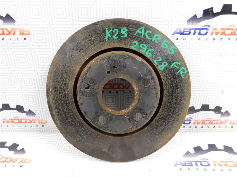 Диск тормозной Toyota Estima ACR50 передний
