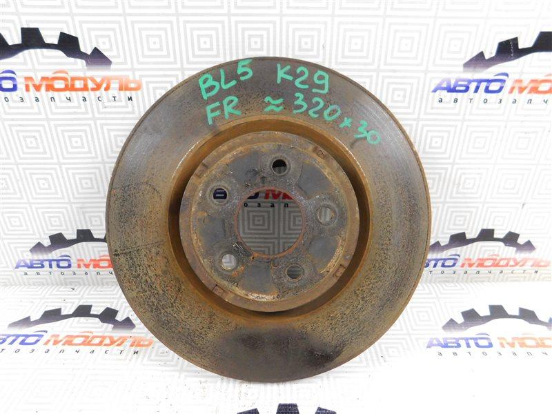 Диск тормозной Subaru Legacy BL5 передний