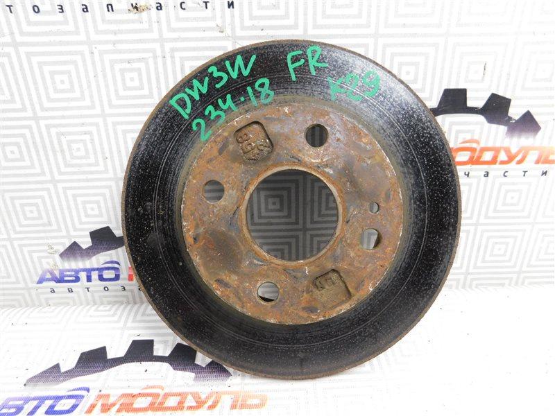 Диск тормозной Mazda Demio DW3W B3 передний