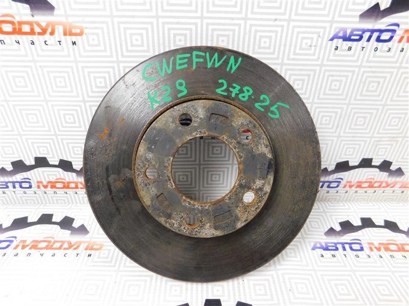 Диск тормозной Nissan Lafesta CWEFWN передний