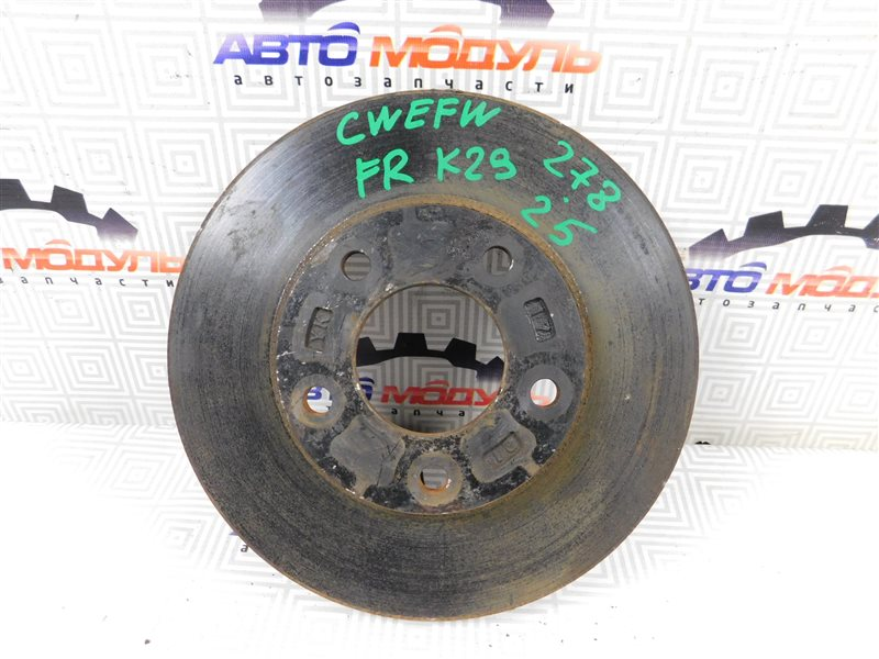 Диск тормозной Mazda Premacy CREW передний