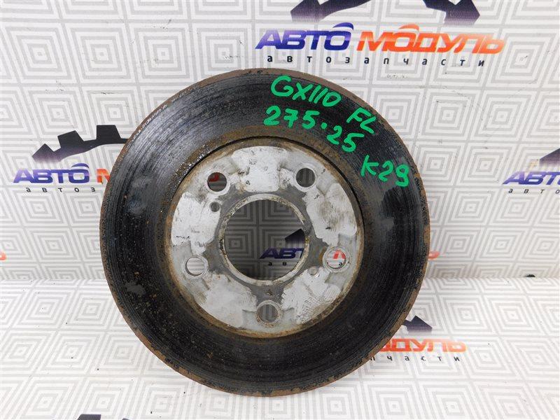 Диск тормозной Toyota Markii JZX90 передний