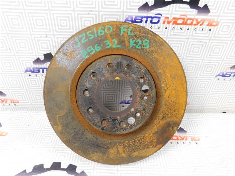 Диск тормозной Toyota Aristo UZS143 передний