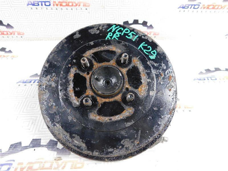 Барабан тормозной Toyota Succeed NCP51-0071775 1NZ-FE 2004 задний