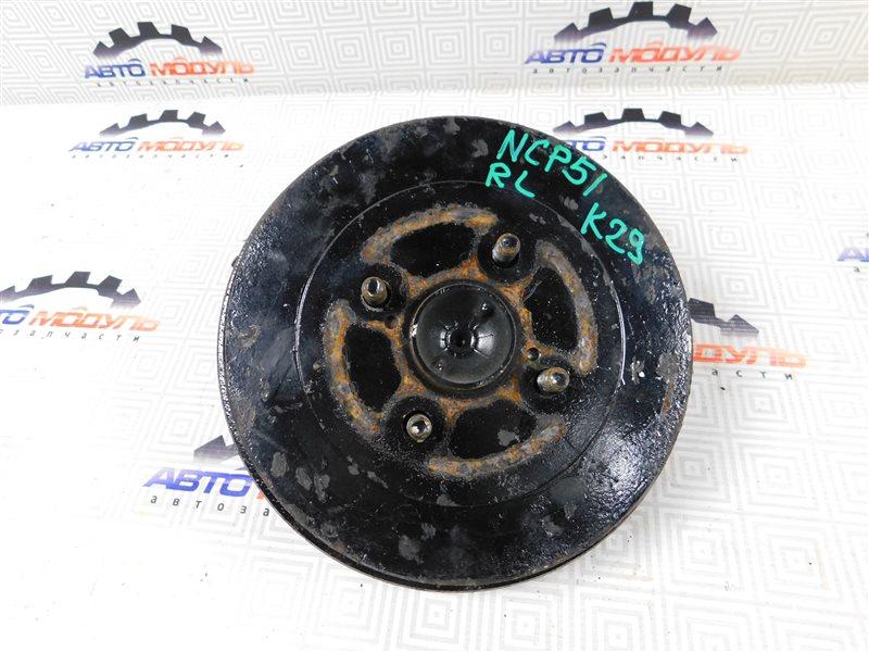 Ступица Toyota Succeed NCP51-0071775 1NZ-FE 2004 задняя левая