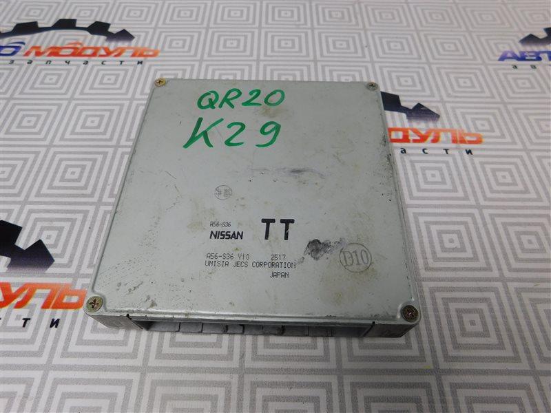 Компьютер двс Nissan Serena TC24 QR20