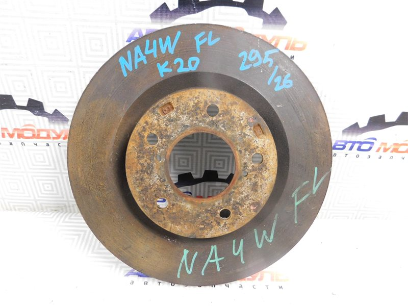 Диск тормозной Mitsubishi Grandis NA4W 4G69 передний