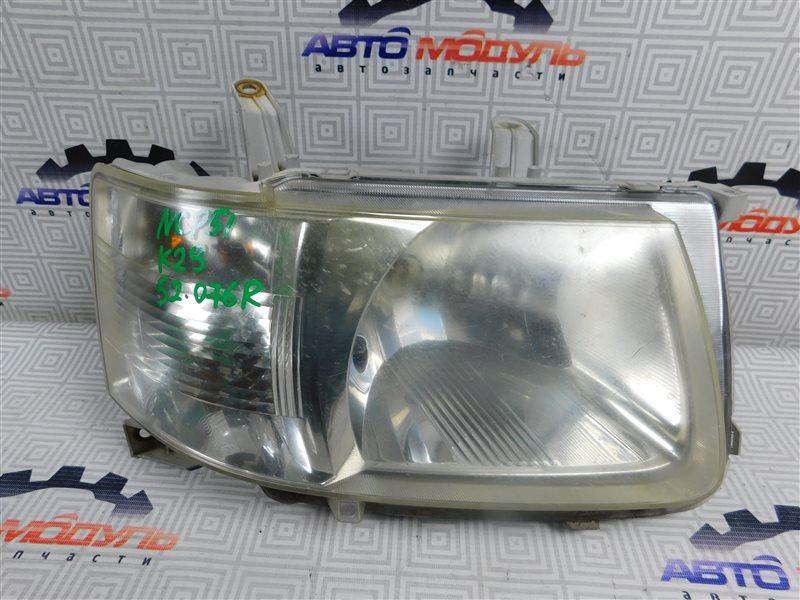 Фара Toyota Succeed NCP51-0071775 1NZ-FE 2004 передняя правая