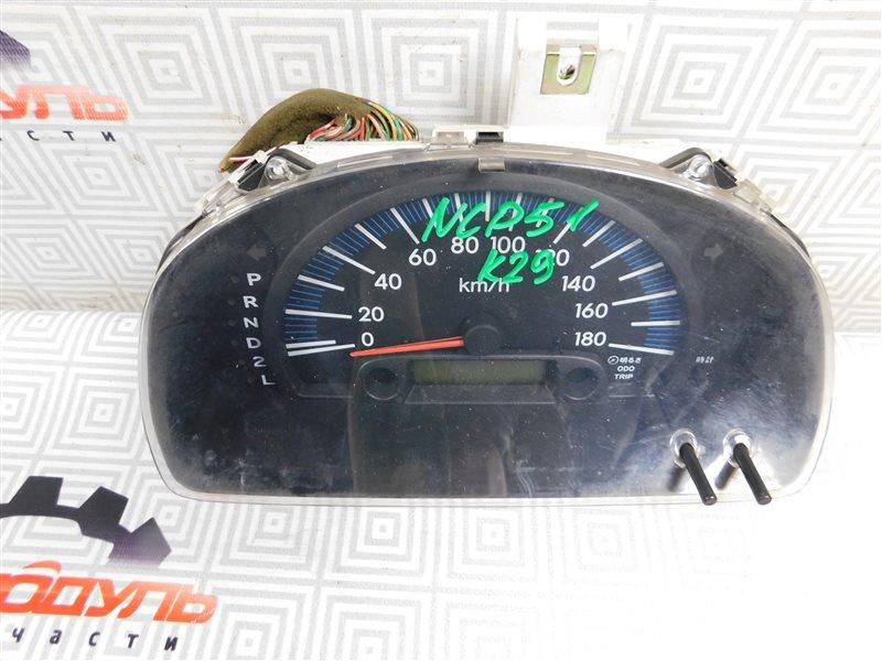 Панель приборов Toyota Succeed NCP51-0071775 1NZ-FE 2004