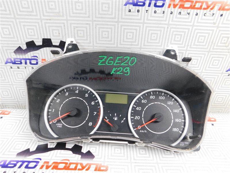 Панель приборов Toyota Wish ZGE20-0101625 2ZR-FAE 2011