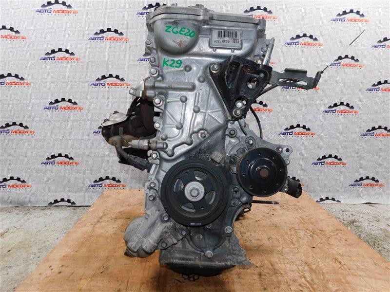 Двигатель Toyota Wish ZGE20-0101625 2ZR-FAE 2011