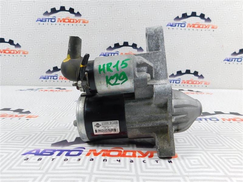 Стартер Nissan Tiida Latio SC11 HR15-DE
