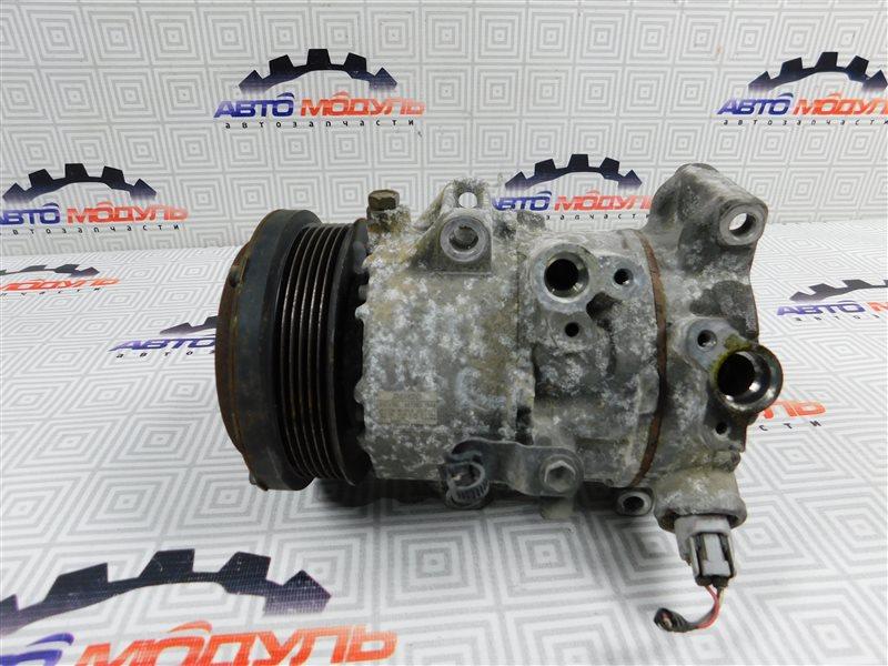 Компрессор кондиционера Toyota Voxy ZRR70 3ZR-FE.3ZR-FAE