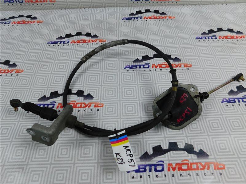 Трос переключения акпп Toyota Succeed NCP51-0071775 1NZ-FE 2004