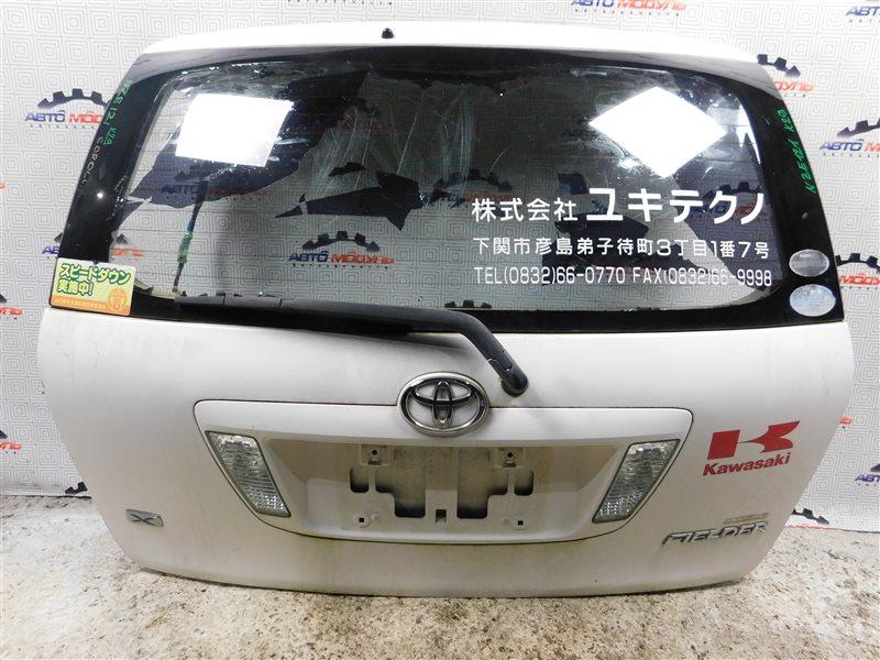 Дверь 5-я Toyota Corolla Fielder NZE121-0303325 1NZ-FE 2004 задняя
