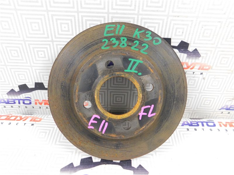Диск тормозной Nissan Note E11 передний