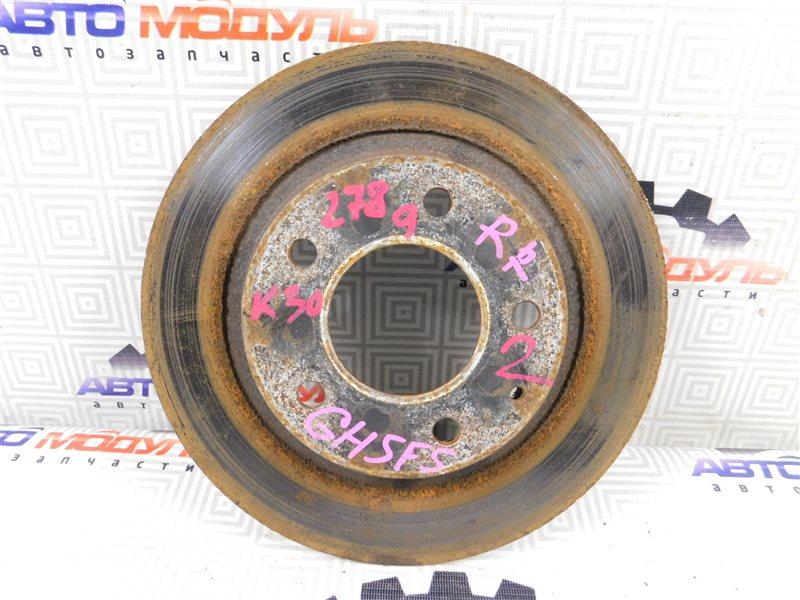 Диск тормозной Mazda Atenza GG3P задний