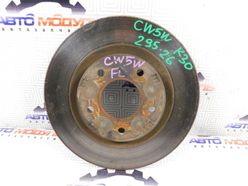 Диск тормозной Mitsubishi Outlander CW5W-0009588 4B12 2005 передний