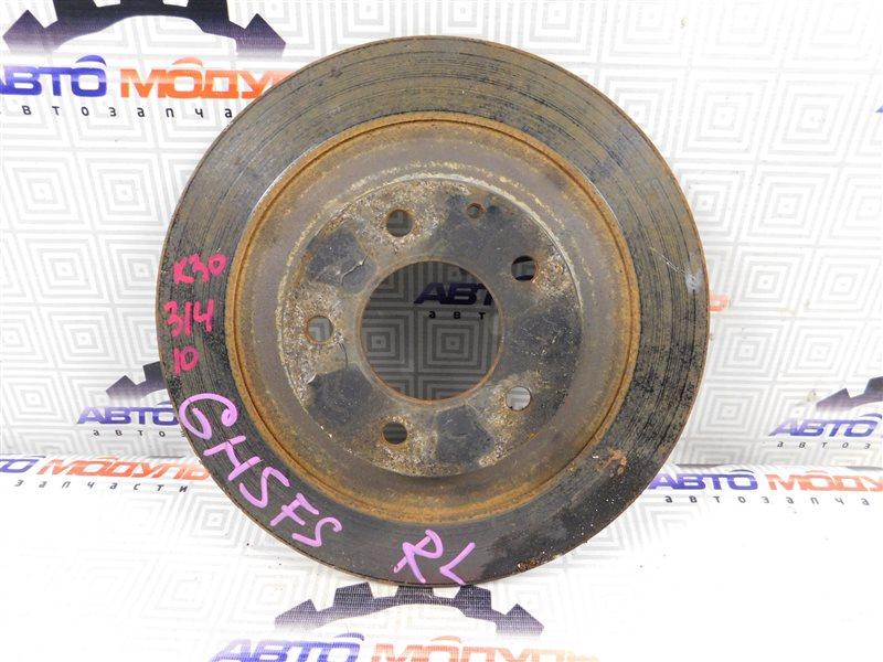 Диск тормозной Mazda Atenza GH5FS L5 задний