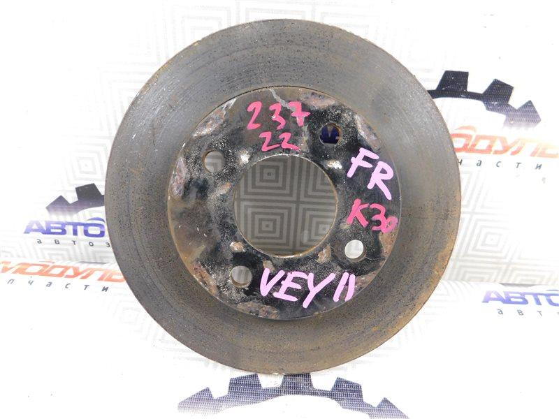 Диск тормозной Nissan Ad VY11 передний