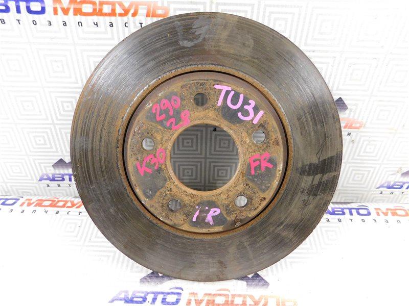 Диск тормозной Nissan Presage TU31 передний